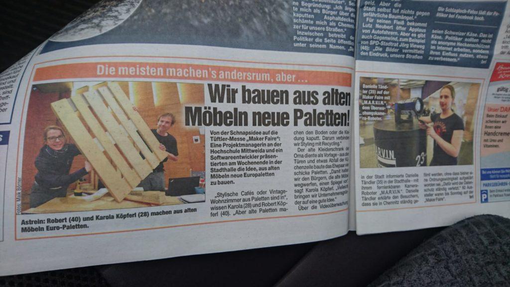 Europaletten aus Möbeln – köpferl.de