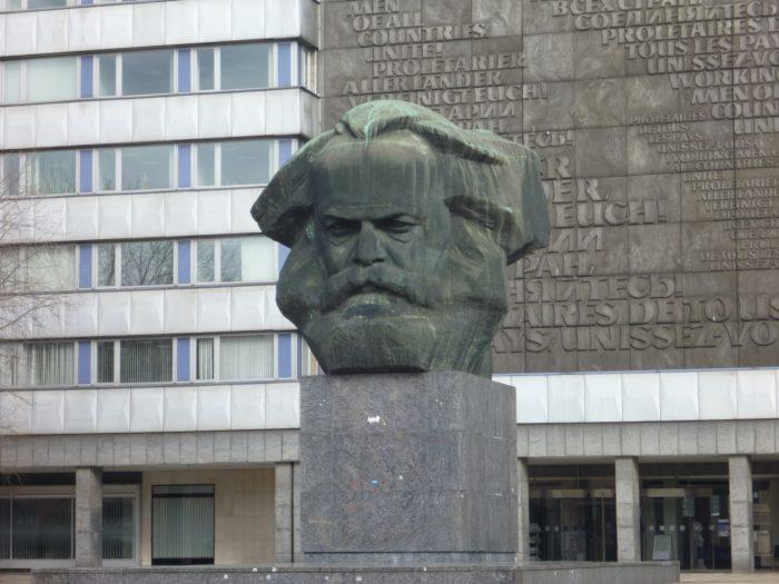 Karl-Marx-Monument Chemnitz